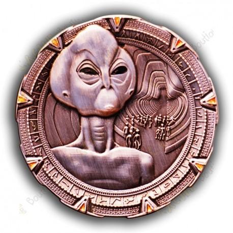 """Géocoin """"Stargate Thor"""" - AC"""