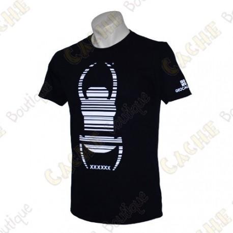 "T-Shirt ""Travel Bug"" Trackable - Noir"