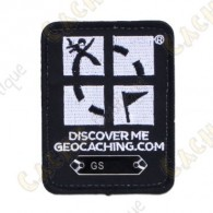 Four Color Geocaching Logo Trackable Patch