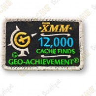 Geo Achievement® 12 000 Finds - Parche