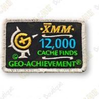 Geo Achievement® 12 000 Finds - Parche