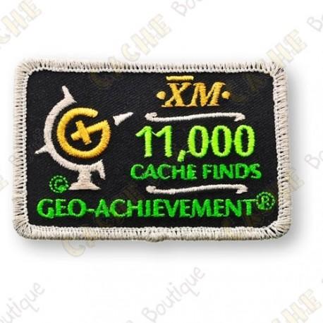 Geo Achievement® 11 000 Finds - Patch