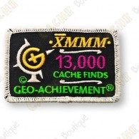 Geo Achievement® 13 000 Finds - Parche