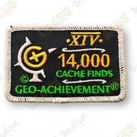 Geo Achievement® 14 000 Finds - Parche