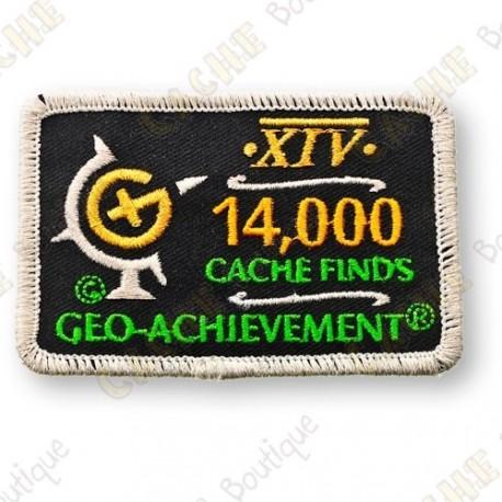 Geo Achievement® 14 000 Finds - Parche