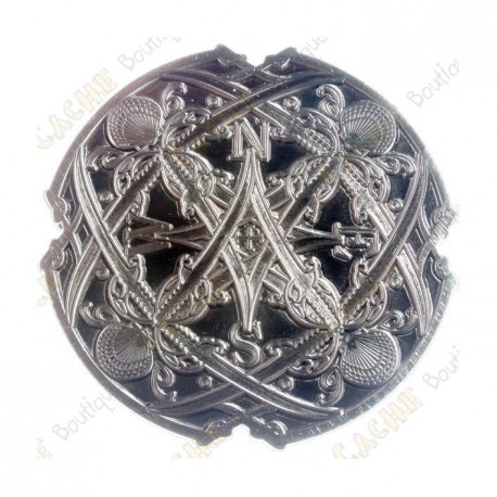 "Geocoin ""Sea Compass"" - Antique Silver"