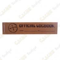 "Petit logbook ""Official Logbook"" pour PET - Rite in the Rain"