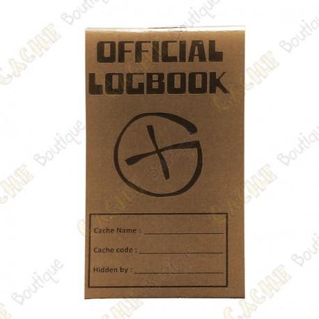 "Petit logbook ""Official Logbook"" - Rite in the Rain"