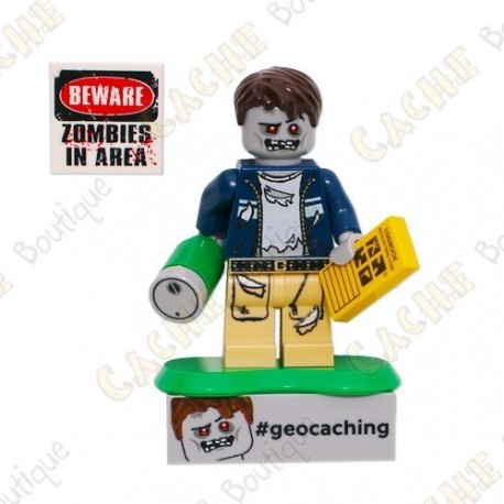 Personnage LEGO™ trackable - Zombie Cache Hunter