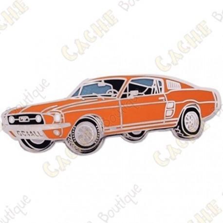 "Géocoin ""Mustang"" - Orange"