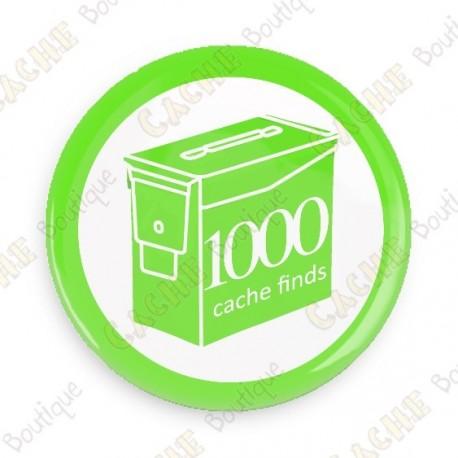 Geo Score Badge - 1000 Finds