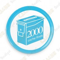 Geo Score Badge - 2000 Finds