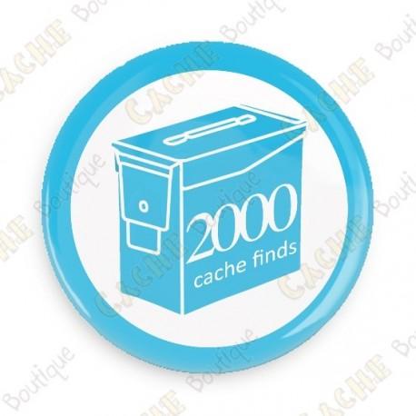 Geo Score Crachá - 2000 finds