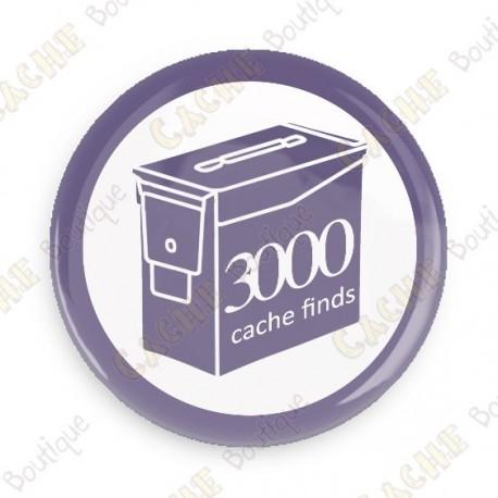 Geo Score Badge - 3000 Finds