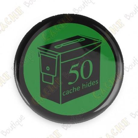 Geo Score Badge - 50 Hides