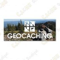 "Magnet ""Geocaching"" acrylique"