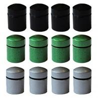 Nano Cache con imán x 12 - 3 colores
