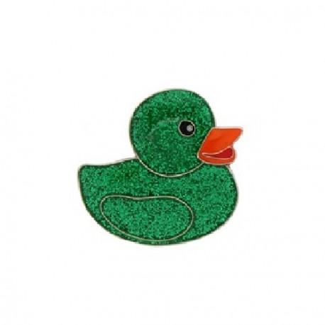 """Géocoin """"Geo Duckies"""" Vert - Limited Edition"""