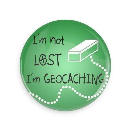 Crachá I'm not lost I'm Geocaching