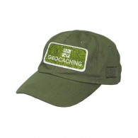Casquette patch Geocaching - Kaki