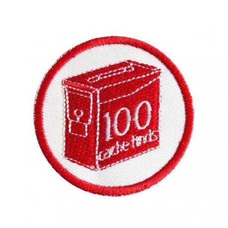 Geo Score 100 Finds - Parche