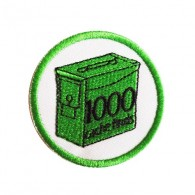 Geo Score Parche - 1000 Finds