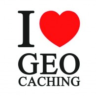 "Sticker ""I love Geocaching"""