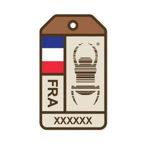 "Sticker Travel Bug ""Origins"" - France"