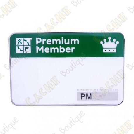 Event name tag trackable - Premium Member