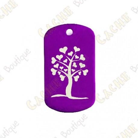 "Traveler ""Heart Tree"" - Púrpura"