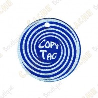 Copy Tag - Geocoin/Double tag - Azul