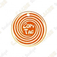 Copy Tag - Geocoin/Double tag - Laranja
