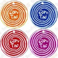 Copy Tag - Geocoin/Traveler de secours  x4