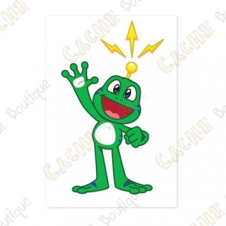 """Sticker """"Signal The Frog"""""""