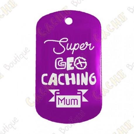 """Traveler """"Super Geocaching Mum"""" - Violet"""