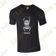 "Camiseta trackable ""Travel Bug"" Hombre"