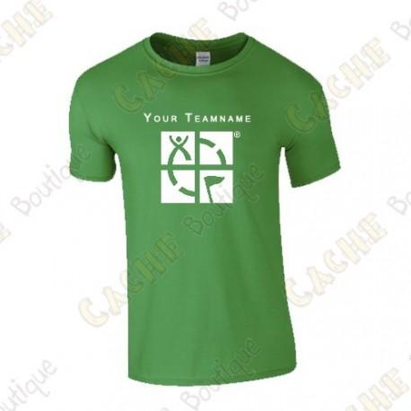 T-shirt com seu Apelido, Homem - Preto