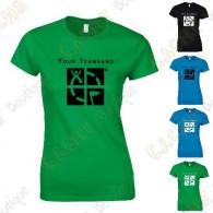 T-Shirt avec votre Pseudo, Femme
