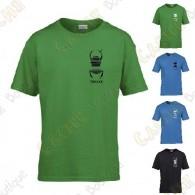 Camiseta trackable con Teamname, Niño - Negra