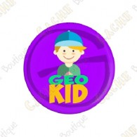 "Badge ""Geo Kid"" Garçon"