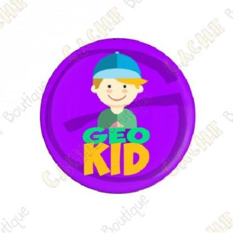 """Badge """"Geo Kid"""" Garçon"""