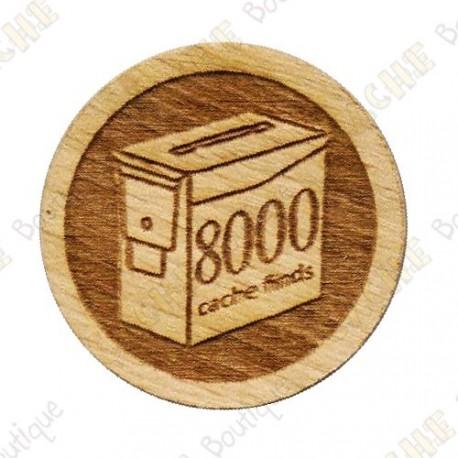 Geo Score Woody - 8000 Finds