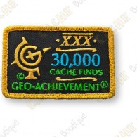 Geo Achievement® 30 000 Finds - Parche