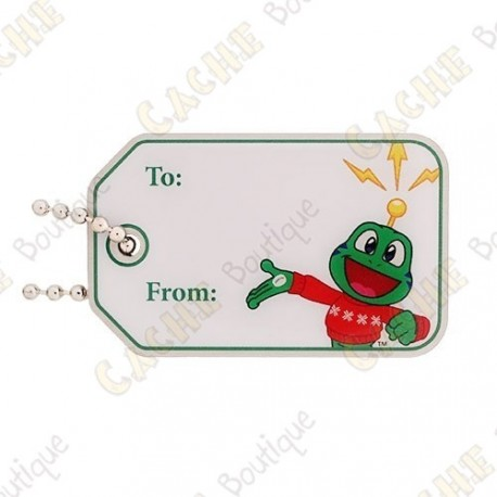 """Traveler """"TO / From"""" Signal the Frog®"""