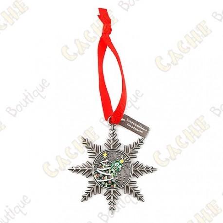 """Géocoin """"Signal ornament"""" - Arbre de Noël"""