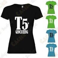 """T-shirt """"T5"""" Mulher"""