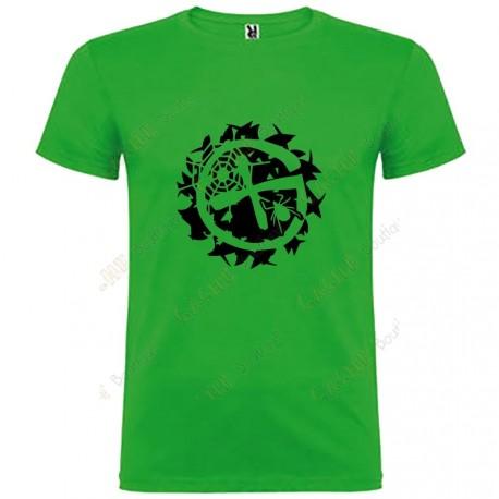 "Camiseta ""Geo-Brushwood"" Hombre"