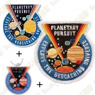 "Geocoin ""Planetary Pursuit"" + Copy tag"