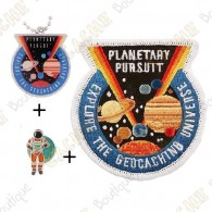 "Micro Coin ""Planetary Pursuit"" + Traveler + Patch"