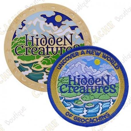 """Géocoin """"Hidden Creatures"""" + Traveler Copy"""